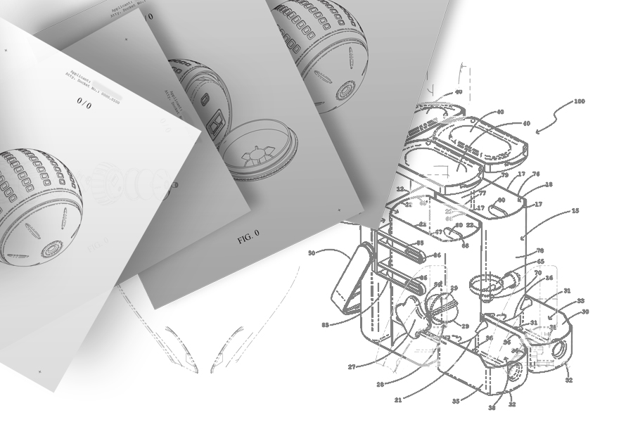 Patent Research & Protection is crucial. This image shows a drawing from our patent process.